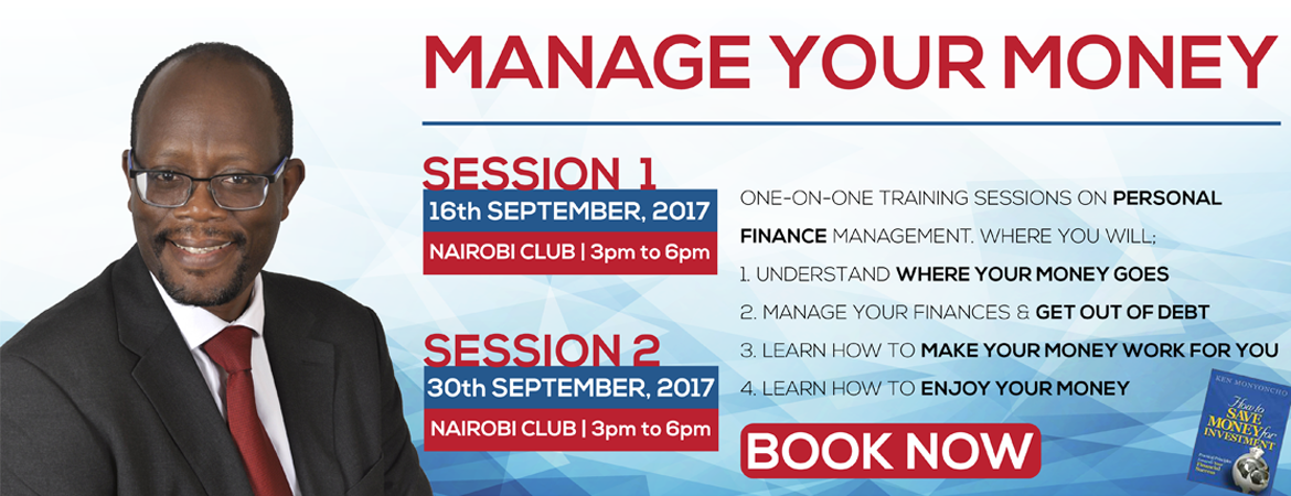 Kennedy Monyoncho - Manage your Money Event2